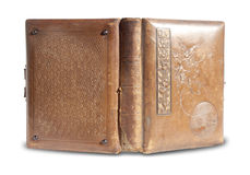 Antique Leather Bound Book Royalty Free Stock Image
