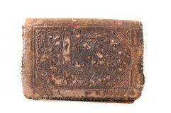Antique Leather wallet Royalty Free Stock Image