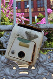 Antique letter box Royalty Free Stock Photo