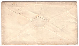 Antique letter envelope Royalty Free Stock Photo