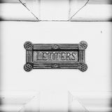 Antique letterbox Royalty Free Stock Photo