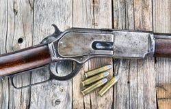 Antique 1876 Rifle. Stock Photos