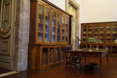 Antique library and studio Stock Image