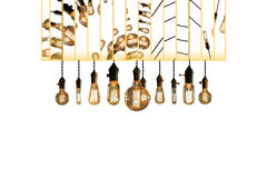 Antique Light bulbs Royalty Free Stock Images