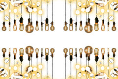 Antique Light bulbs Stock Photos
