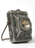 Antique lighter. Electrical hand torch for police or armed forces service (WWII period Royalty Free Stock Images