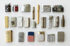 Antique Lighters Stock Image
