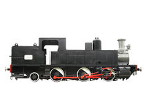 Antique Locomotive 2 Royalty Free Stock Photos