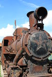 Antique locomotive Stock Photo