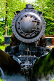 Antique Locomotive. Skagway, AK, USA - May 26, 2016:  WP&YR antique locomotive on display at the Skagway Museum Stock Image