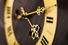 Antique looking clock dial Stock Images