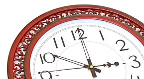Antique looking clock face Stock Photography