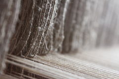Antique loom Royalty Free Stock Photos