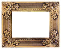 Love gold frame Royalty Free Stock Photo