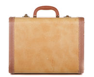 Antique luggage or suitcase. Antique or retro luggage or suitcase on a white background Royalty Free Stock Photography