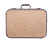 Antique luggage or suitcase. Antique or retro luggage or suitcase on a white background Stock Photos