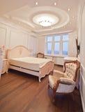 Antique luxury bedroom Royalty Free Stock Photo