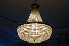 Antique luxury chandelier Stock Photo