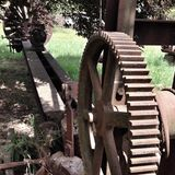 Antique machinery Royalty Free Stock Photo