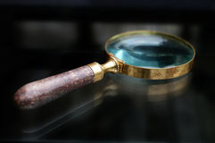 Antique Magnifying Glass Stock Images