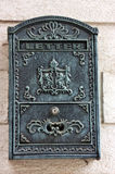 Antique mail box Royalty Free Stock Photos