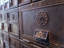 Antique mailbox Royalty Free Stock Photography