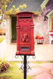 The Antique Mailbox Royalty Free Stock Photos