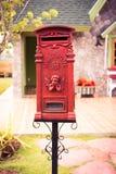 The Antique Mailbox Royalty Free Stock Photos
