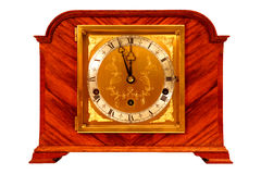 Antique Mantle Clock Stock Photo