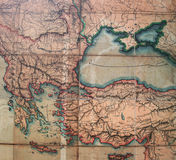 Antique Map Royalty Free Stock Image