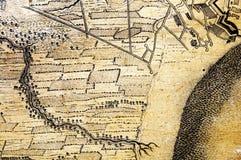Antique map background Stock Photo