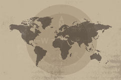 Antique map design Royalty Free Stock Images