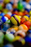 Antique Marble Collection. A collection of colorful glass antique marbles Stock Image