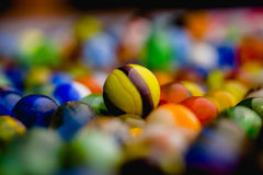 Antique Marble Collection. A colorful collection of antique marbles Royalty Free Stock Images