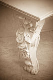 Antique marble table Stock Photos
