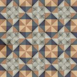 Antique marbled floor tiles, abstract pattern Royalty Free Stock Image
