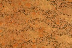 Antique marbled paper background. Royalty Free Stock Image