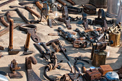 Antique Market Royalty Free Stock Photos
