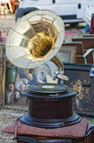 Antique Market. Traditional market of antiques and historical Stock Photo