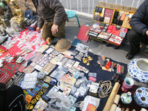 Antique market Stock Images
