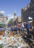 Antique market in Delft Royalty Free Stock Images
