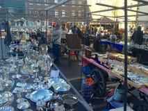 Antique Market in London Stock Photos