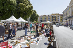 The Antique Market in Nice Royalty Free Stock Images