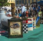 Antique Market Oil can detail Stock Photos