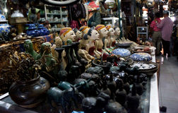 Antique market Royalty Free Stock Images