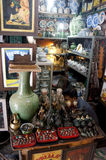 Antique market Stock Photography