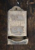 Antique matchbox Royalty Free Stock Image