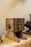 Antique meat grinder Stock Photos