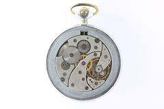 Antique mechanical pocket watch Royalty Free Stock Photo