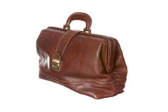 Antique medical bag Royalty Free Stock Image
